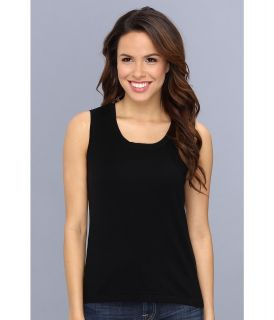 Jones New York Sleeveless Shell Womens Sleeveless (Black)
