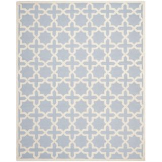 Safavieh Cambridge Light Blue / Ivory Rug CAM125A 10 / CAM125A 1115