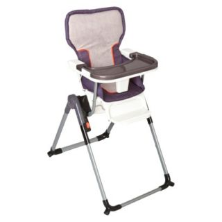 Simmons Urban Edge Flat Fold High Chair   Charcoal
