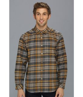 ExOfficio Viajo Flannel Long Sleeve Shirt Mens Long Sleeve Button Up (Beige)