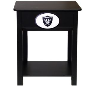 Fan Creations NFL End Table N0533  NFL Team Oakland Raiders