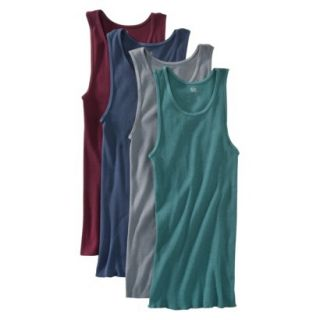 Fruit of the Loom Mens A Shirts 4 Pack   Assorted Colors XL