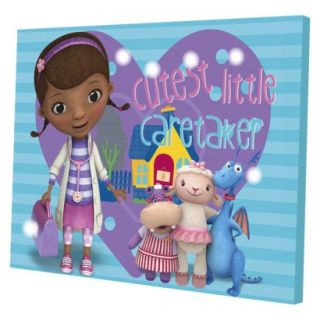 Disney Doc McStuffins LED Canvas Wall Art