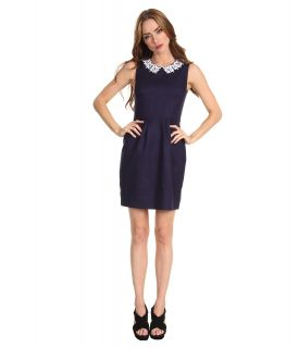 Kate Spade New York Daisy Tiff Dress Womens Dress (Navy)