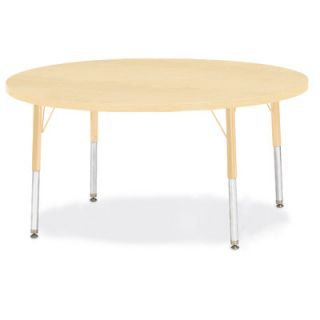Jonti Craft Berries Round Activity Table (48 x 48) 6433JC251 Size 24 H x