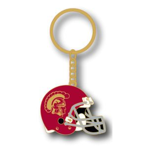 USC Trojans AMINCO INC. Metal Helmet Key Ring
