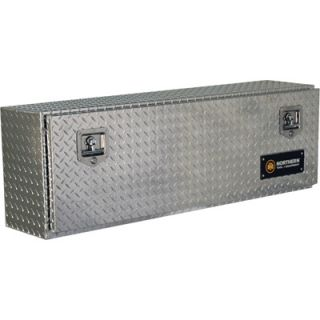 Locking Aluminum Top Mount Truck Box   48in. x 12in.