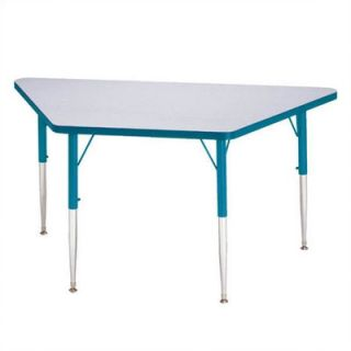 Jonti Craft KYDZ Trapezoidal Activity Table (24   48 and 30 x 60) 6438JC/