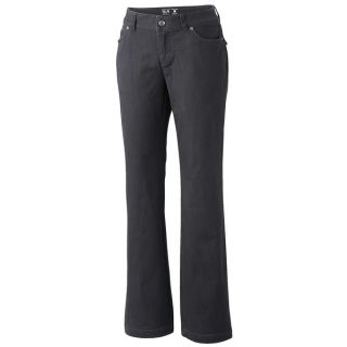 Mountain Hardwear LaCarta Pants   Stretch Cotton Twill (For Women)   SHARK (10 )