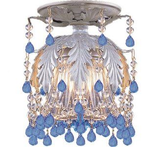 Crystorama Lighting CRY 5230 SL BLUE Paris Flea Market Paris Flea Market 1 Light