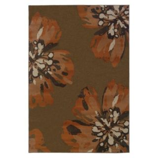 Estate Floral Area Rug (53x76)