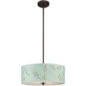 Dolan Designs DOL 5124 220 Rio fabric shade pendant