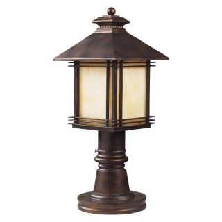 Elk Lighting Blackwell Post Light   18H in. Hazelnut Bronze   42104/1