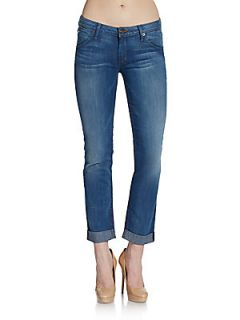 Cropped Straight Leg Jeans   District