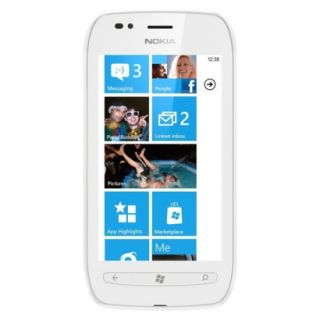 Nokia Lumia 710 Unlocked Cell Phone for GSM Compatible   White