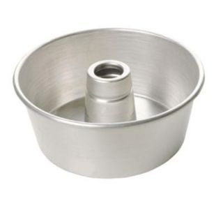 Focus Angel Food / Tube Cake Pan, 9 1/4 diam x 4 in Deep, Aluminum