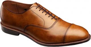 Mens Allen Edmonds Park Avenue   Walnut Cloud Finished Calf Lace Up Shoes