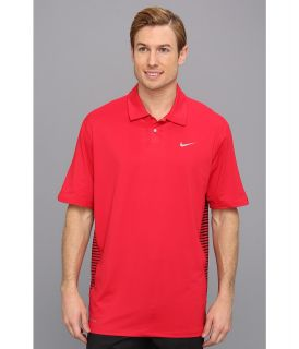 Nike Golf Tiger Woods Engineered Stripe Polo Mens Short Sleeve Knit (Multi)