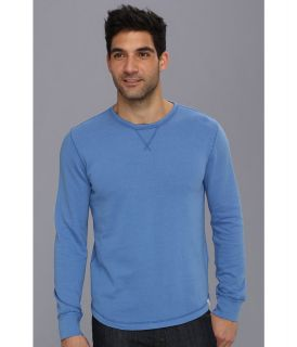 Lucky Brand Honeycomb Crew Mens Clothing (Blue)