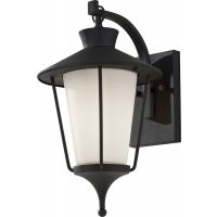 Feiss OL8400TXB Hawkins Square 1 Light Outdoor Lantern