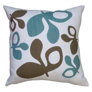 Balanced Design Hand Printed Pods Linen Pillow   LPOD1