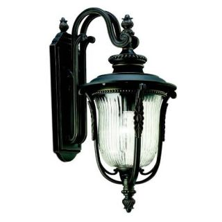 Kichler 49003RZ Outdoor Light, European Wall 1 Light Fixture Rubbed Bronze