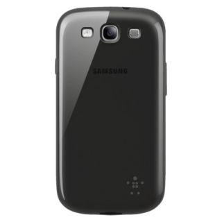 Belkin Cell Phone Grip Sheer Case for Samsung Galaxy S III   Black (F8M398ttC00