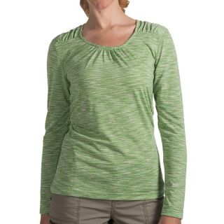Woolrich Constellation Jersey Shirt   Scoop Neck  Long Sleeve (For Women)   AVOCADO (L )