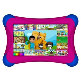 Visual Land Prestige Pro FamTab 8GB 1.6GHz Dual Core Android Tablet   Magenta