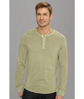 Lucky Brand Honeycomb Henley Mens T Shirt (Taupe)