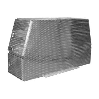 Buyers Products Aluminum Heavy Duty Backpack Truck Box   Diamond Plate, 82in.L