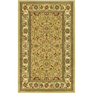 Lyndhurst Collection Majestic Beige/ Ivory Rug (33 X 53)