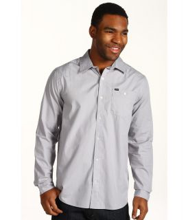 Hurley Rise Solid L/S Shirt Mens Long Sleeve Button Up (Multi)