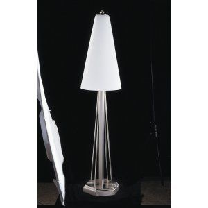 Framburg Lighting FRA 8830 BS Solstice Three Light Table Lamp from the Solstice