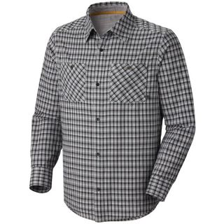 Mountain Hardwear McHenry Plaid Shirt   Long Sleeve (For Men)   TITANIUM (L )