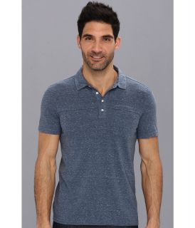 Calvin Klein Jeans S/S 1 Pocket Polo Mens Short Sleeve Pullover (Navy)
