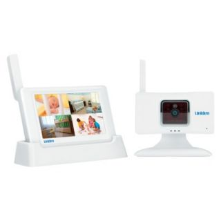 Uniden G403 4.3 Color Touchscreen Portable Baby Monitor System
