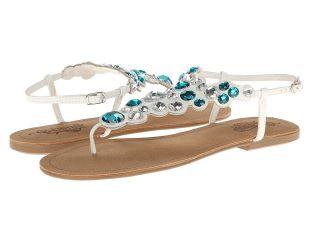 Kenneth Cole Unlisted Coin Toss Womens Sandals (White)