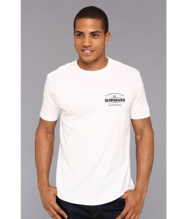Quiksilver Time Travel Tee Mens T Shirt (White)