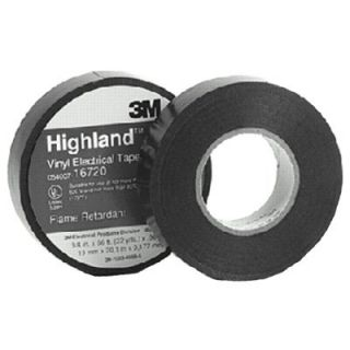 3m Highland Vinyl Commercial Grade Electrical Tapes   16720
