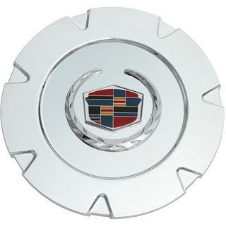 Oxgord Copy Of Cadillac Escalade 07 Chrome Rev Logo Center Cap (ABS plasticDimensions 7.75 inch diameterQuantity One (1) cap)