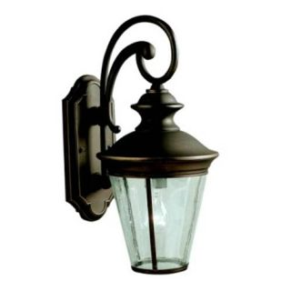 Kichler 9347OZ Outdoor Light, Classic (Formal Traditional) Wall 1 Light Fixture Olde Bronze
