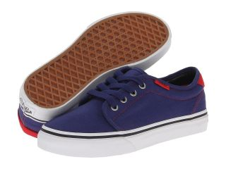 Vans Kids 159 Vulcanized Boys Shoes (Navy)