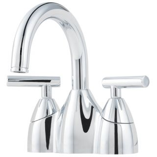 Price Pfister F 048 NC00 Contempra 4 In. 2 Handle High Arc Bathroom Faucet