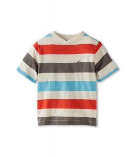 Quiksilver Kids Tower Rip S/S Knit Boys Short Sleeve Knit (White)