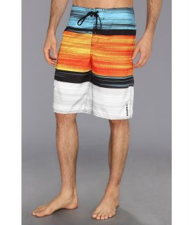 ONeill Kingston In Line Boardshort Mens Swimwear (Orange)