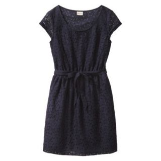 Merona Womens Lace Sheath Dress   Xavier Navy   XL