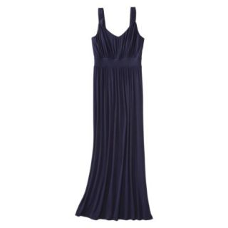 Merona Petites Sleeveless Maxi Dress   Navy MP