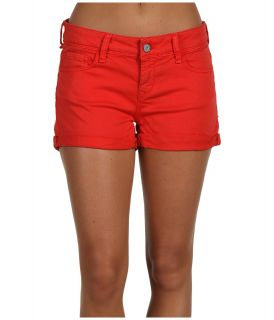 Mavi Jeans Tiara Low Rise Cuffed Short in Cardinal Red Womens Shorts (Red)