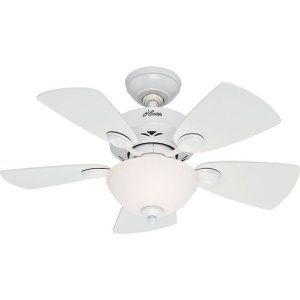 Hunter HUF 52089 Watson Small Room Ceiling Fan with light